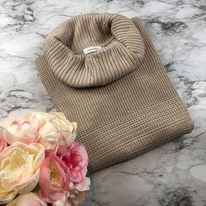 {NEW} Calvin Klein Cozy Cowl Neck Sweater